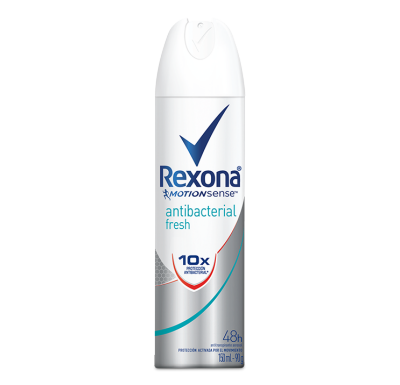 Rexona Women Antitranspirante Aerosol Antibacterial Fresh 150ml