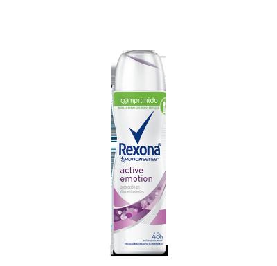 Rexona Women Antitranspirante Aerosol Comprimido Active Emotion 85ml
